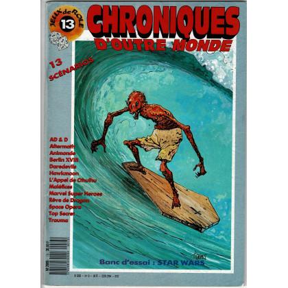 Chroniques d'Outre Monde N° 13 (magazine de jeux de rôles) 002