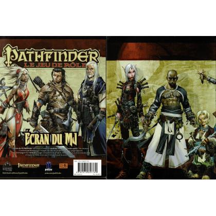 Pathfinder - Ecran du MJ & livret (jdr Pathfinder de BBE en VF) 001