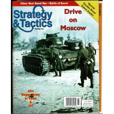 Strategy & Tactics N° 244 - Drive on Moscow (magazine de wargames en VO)