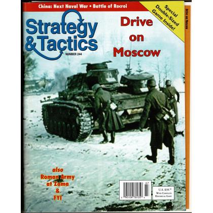 Strategy & Tactics N° 244 - Drive on Moscow (magazine de wargames en VO) 001