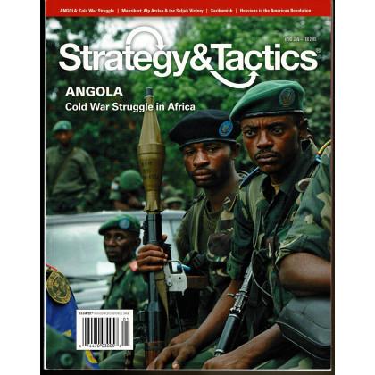 Strategy & Tactics N° 290 - Angola 1987-1988 (magazine de wargames & jeux de simulation en VO) 001