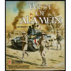 West of Alamein - ASL Module 5 (wargame Advanced Squad Leader d'Avalon Hill en VO)