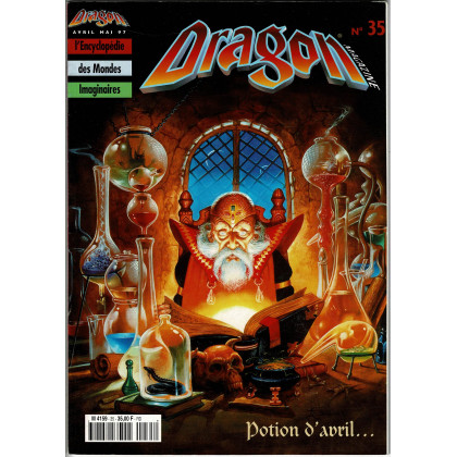 Dragon Magazine N° 35 (L'Encyclopédie des Mondes Imaginaires) 005