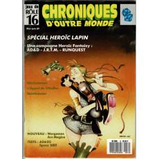 Chroniques d'Outre Monde N° 16 (magazine de jeux de rôles)