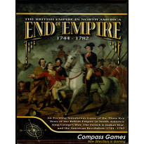 End of Empire 1744-1782 (wargame Compass Games en VO) 001