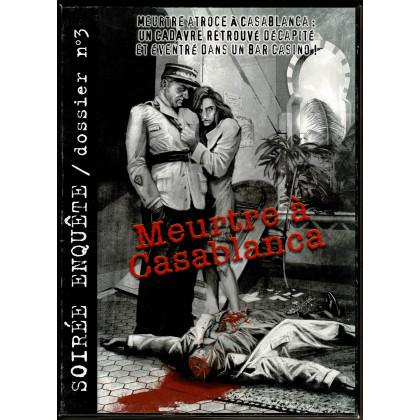 Meurtre à Casablanca (soirée enquête - Dossier n° 3 en VF) 001