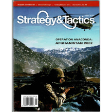 Strategy & Tactics N° 279 - Operation Anaconda - Afghanistan 2002 (magazine de wargames en VO)