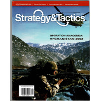 Strategy & Tactics N° 279 - Operation Anaconda - Afghanistan 2002 (magazine de wargames en VO) 002