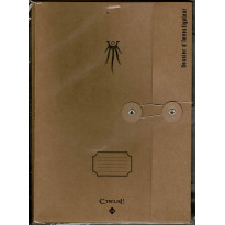 Pack de 5 dossiers vintage d'Investigateurs (jdr L'Appel de Cthulhu V7 en VF) 001