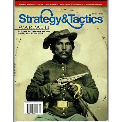 Strategy & Tactics N° 291 - Warpath (magazine de wargames en VO) 001