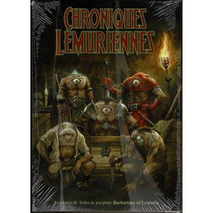 Chroniques Lémuriennes DECLASSE - Ecran, carte Lémurie et livre (jdr Barbarians of Lemuria Mythic en VF) 006