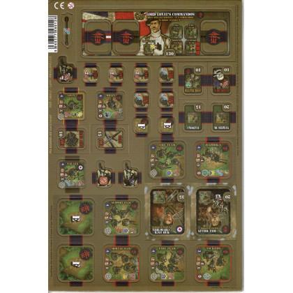 Heroes of Normandie - UK Lord Lovat (jeu de stratégie & wargame de Devil Pig Games) 002