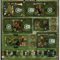 Heroes of Normandie - Heroes Set (jeu de stratégie & wargame de Devil Pig Games)