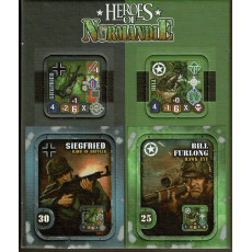 Heroes of Normandie - Extra Heroes (jeu de stratégie & wargame de Devil Pig Games)