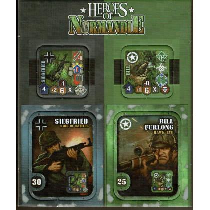 Heroes of Normandie - Extra Heroes (jeu de stratégie & wargame de Devil Pig Games) 001