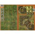 Heroes of Normandie - Lot Ferme fortifiée & Extra Terrain Set 2 (jeu de Devil Pig Games) L136