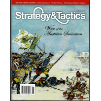 Strategy & Tactics N° 289 - War of the Austrian Succession (magazine de wargames en VO)