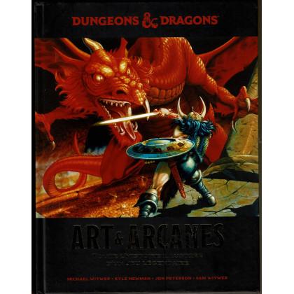 Dungeons & Dragons - Art & Arcanes (livre artbook de Wizards of the Coast en VF) 001