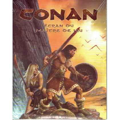 Conan d20 System - Ecran du Maître de Jeu (jdr d'Ubik en VF) 008