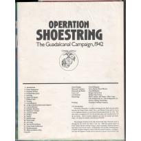 Operation Shoestring - The Guadalcanal Campaign 1942 (wargame ziploc GMT en VO)