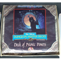 Deck of Psionic Powers - The Official Dungeon Master Decks (jdr AD&D 2 en VO) 001