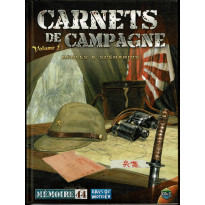 Mémoire 44 - Carnets de Campagne Volume 2 (wargame/boardgame Days of Wonder en VF) 001