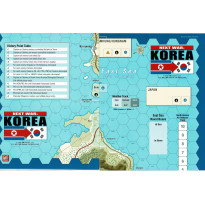 Next War Korea - 2 cartes (wargame de GMT Games en VO)
