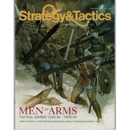 Strategy & Tactics N° 137 - Men-at-Arms: Tactical Combat 1200 BC-1500 AD (magazine de wargames en VO) 001