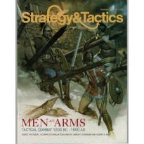 Strategy & Tactics N° 137 - Men-at-Arms: Tactical Combat 1200 BC-1500 AD (magazine de wargames en VO)