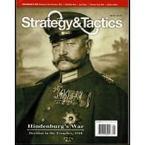 Strategy & Tactics N° 288 - Hindenburg's War 1918 (magazine de wargames en VO)