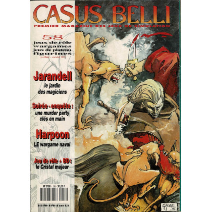 Casus Belli N° 58 (premier magazine des jeux de simulation) 011