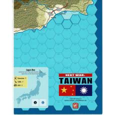 Next War : Taiwan - Carte (wargame de GMT Games en VO)