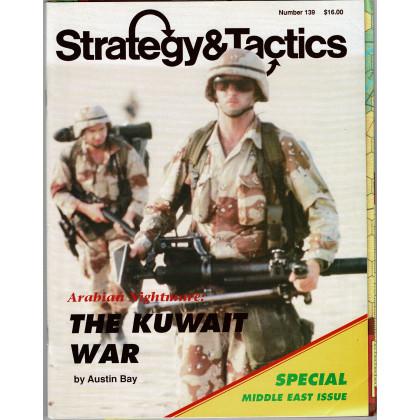 Strategy & Tactics N° 139 - The Kuwait War (magazine de wargames en VO) 001