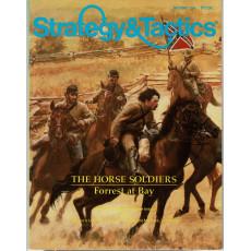 Strategy & Tactics N° 119 - The Horse Soldiers - Forrest at Bay 1864 (magazine de wargames & jeux de simulation en VO)