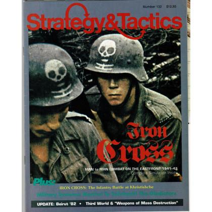 Strategy & Tactics N° 132 - Iron Cross 1941-42 (magazine de wargames en VO) 001