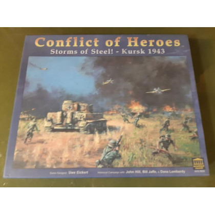 Conflict of Heroes - Storms of Steel! - Kursk 1943 (wargame en VO) 001