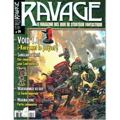 Ravage N° 19 (le Magazine des Jeux de Stratégie Fantastique) 005