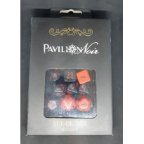 Pavillon Noir - Set de dés basique (jdr de Black Book Editions en VF)