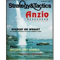 Strategy & Tactics N° 134 - Anzio Beachhead 1944 (magazine de wargames en VO) 001