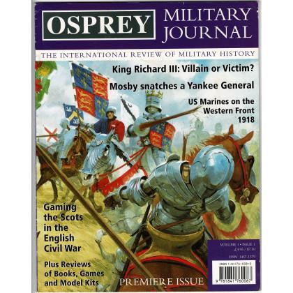Osprey Military Journal - Volume 1 Issue 1 (magazine d'histoire militaire en VO) 001