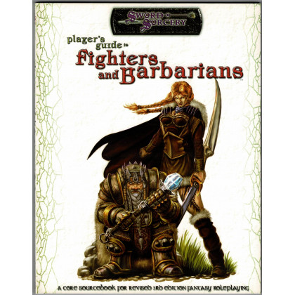 Player's Guide to Fighters and Barbarians (jdr Sword & Sorcery en VO) 001