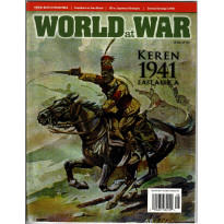 World at War N° 25 - Keren 1941 East Afrika (Magazine wargames World War II en VO) 001