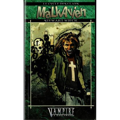 Le Cycle des Clans 9 - Malkavien (Roman Vampire La Mascarade en VF) 001