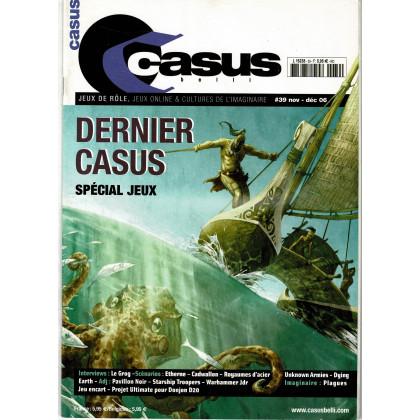 Casus Belli N° 39 (magazine de jeux de rôle 2e édition) 003