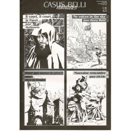 Casus Belli N° 63 - Encart de scénarios (Premier magazine des jeux de simulation) 002