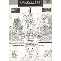 Casus Belli N° 61 - Encart de scénarios (Premier magazine des jeux de simulation)