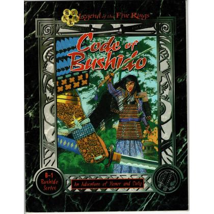 B-1 Code of Bushido (jdr Legend of the Five Rings en VO) 001