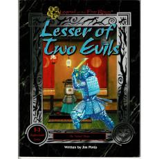S-3 Lesser of Two Evils (jdr Legend of the Five Rings en VO)