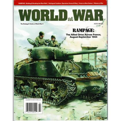 World at War N° 40 - Rampage 1944 (Magazine wargames World War II en VO) 001