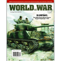 World at War N° 40 - Rampage 1944 (Magazine wargames World War II en VO) 001